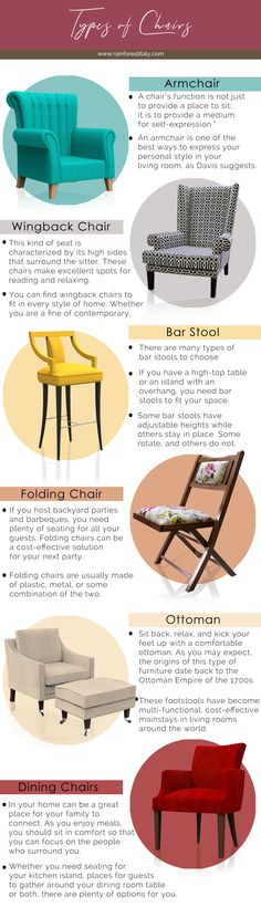 types of chairs for your home. we manufacture in the armchair, wingback chair, bar stool, folding chair, ottoman, and Dining Chairs .