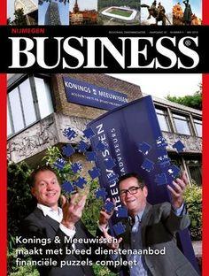 De #Nijmegen Business, mei 2014 editie. Lees hem online via http://issuu.com/nijmegenbusiness/docs/nijmegen-business-03_mei-2014 #ontwerp #DTP door @3AMI