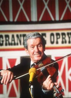 "ROY ACUFF ~ 'The King of Country Music,"" was best known for his weekly appearances on Grand Ole Opry, with his band, the Smoky Mountain Boys. Some of his best songs were: ""Wabash Cannonball,"" ""Night Train to Memphis,"" ""Tennessee Waltz,"" ""Lonely Mound of Clay."" In '62, Acuff became the first living member inducted into the Country Music Hall of Fame."