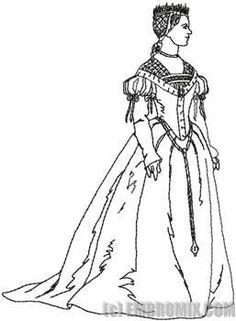 Renaissance Fashion Woman 1