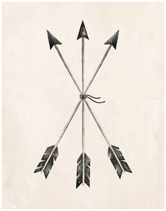 Arrows Art Print - 11X14 by KelliMurrayArt on Etsy https://www.etsy.com/listing/214627958/arrows-art-print-11x14