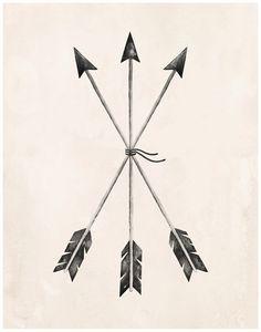 Arrows Art Print - 11X14 by KelliMurrayArt on Etsy https://www.etsy.com/listing/214627958/arrows-art-print-11x14