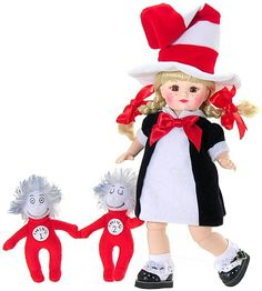 Madame Alexander Dolls ~ Cute doll ~ Funny, I have some thing 1 & thing 2 keychains I used to hang up ...