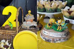 Ddecoracion fiesta abeja maya