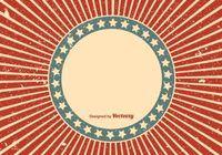 Grunge Sunburst Background