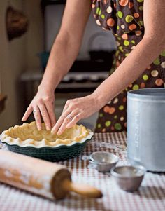 Perfect Pie Crust – Recipes for Pie Crust - Country Living