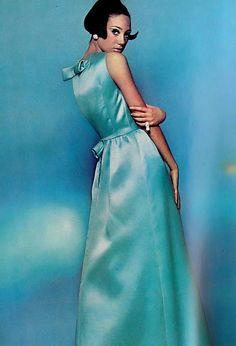 blue, dress
