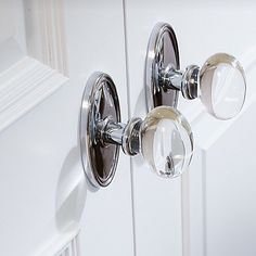 glass egg door knobs