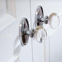 glass egg door knobs