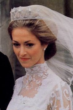 Lord Romsey married Penelope Eastwood in October 1979, at Romsey Abbey. The groom is a grandson of Lord Louis Mountbatten.