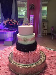 Love this French inspired cake Would go great with the French