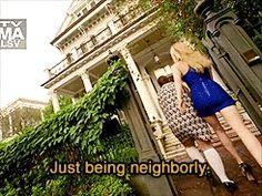 Just being neighborly