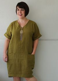 Cookin' & Craftin': Style Arc Adeline Dress in Linen