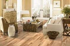 Shop for Mohawk hardwood products at Carpet Express. Discounted prices and fast delivery on Mohawk hardwood floors. Mohawk Hardwood Flooring, Hickory Flooring, Oak Laminate Flooring, Hardwood Floors, Tile Flooring, Hickory Wood, Farmhouse Flooring, Flooring Store, Engineered Hardwood