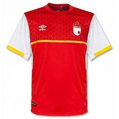 Camiseta del Santa Fe Primera 2015-2016 baratas Camisetas De Fútbol 8a685e2e378c1
