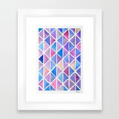 Galaxy Origami Framed Art Print by lorimoro Framed Art Prints, Origami, Stuff To Buy, Home Decor, Products, Paper Folding, Interior Design, Home Interior Design, Origami Art