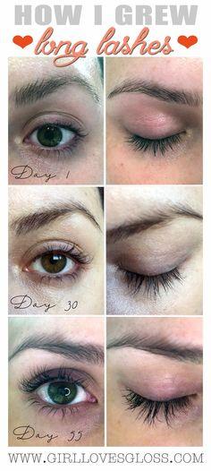 My Secret to Crazy Long Eyelashes • Girl Loves Gloss
