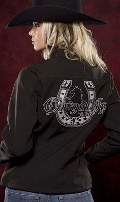 COWGIRL TECH JACKET. : CowboyTzz, Home to Everything Cowboy Up! Cute Country Girl, Country Wear, Country Girls Outfits, Country Shirts, Country Style, Country Music, Cowgirl Outfits, Cowgirl Style, Western Outfits