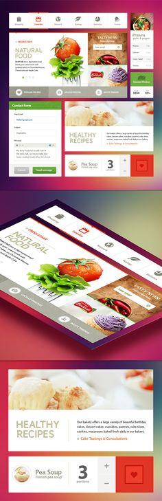 Mike on Behance Dashboard Design, App Design, Professional Website Templates, Healthcare Website, Web Design Projects, Ui Design Inspiration, Ui Web, Cake Tasting, Design Graphique