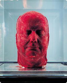Rhumbas & Canvas: Escultura de sangre: autorretrato de Marc Quinn