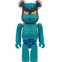 Medicom Devilman 100% Bearbrick Figure (blue)