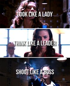 Peggy Carter. Now that's style!