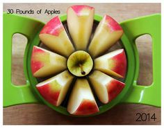 30 Pounds of Apples 2014 Calendar - Available Now for $15!