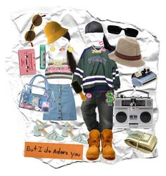 """I got nothin but luv 4 u baby"" by babymoms ❤ liked on Polyvore featuring Billabong, Boohoo, Timberland, Chanel, Dolce&Gabbana, kangol, Moschino, Polaroid, Sonia by Sonia Rykiel and Love and Madness"