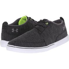 Under Armour UA Street Encounter II (Black/High-Vis Yellow/Graphite)... ($33) ❤ liked on Polyvore featuring men's fashion, men's shoes, men's sneakers, black, mens yellow shoes, under armour mens shoes, mens lightweight running shoes, mens shoes and mens black sneakers