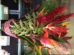 Beautiful Hawaiian floral arrangement