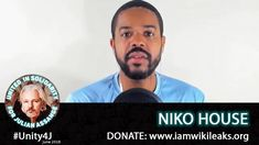 Full interview with Niko House who spoke out in support of Julian Assange on online vigil