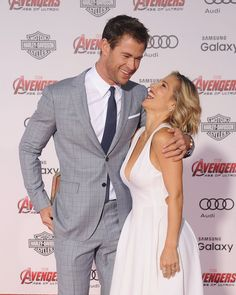 Click for even more pictures of Chris and Elsa ADORABLE relationship