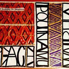 An interpretation of found poetry by New Zealand artist Tracey Tawhiao. Diy Magazine Holder, Found Poetry, Maori Designs, New Zealand Art, Atelier D Art, Nz Art, Maori Art, Rock Art, Contemporary Art