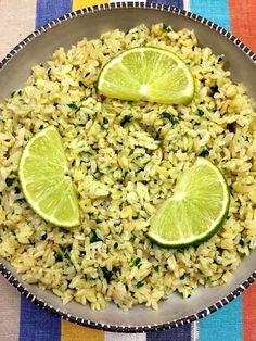Cilantro Lime White Or Brown Rice Recipe