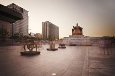 The passage of time from Sejong the Great place