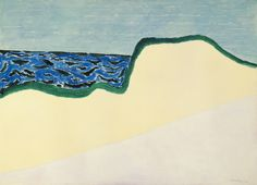 Milton Avery (1893-1965)Dunes and Sea II (1960) oil on canvas 131.8 x 182.9cmWhitney Museum of American Art, New York