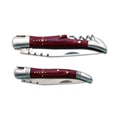Un coffret cadeau Oenologie personnalisé pour ouvrir vos bouteilles ou bien servir de couteau