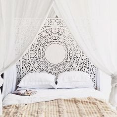 South Shore Decorating Blog: What I Love Wednesday: An All White Bedroom