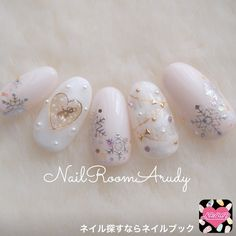 130 adorable christmas nails for the loveliest girls in the world - page 34 > Homemytri. Xmas Nails, Winter Nail Art, Christmas Nail Art, Holiday Nails, Winter Nails, Bridal Nails, Wedding Nails, Cute Nails, Pretty Nails
