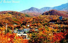 The beautiful Smoky Mountains of Gatlinburg
