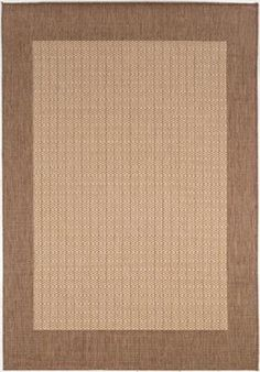 Couristan Recife Checkered Field Natural Rug rugs.com 329 for 8.6x13