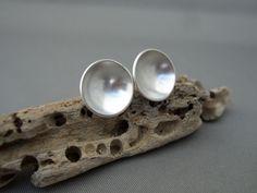 Sterling Silver Domed Stud Earrings