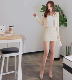 Pin on cloths Pin on cloths Korean Girl Fashion, K Fashion, Asian Fashion, Fashion Dresses, Womens Fashion, Fashion Design, Cute Comfy Outfits, Classy Outfits, Trendy Outfits