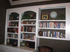 Business office shelves