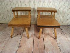Barbie's vintage side tables!