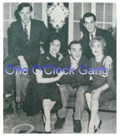 One o'clock Gang Show. I vaguely remember this show. I believe the guy in the front is Larry Marshall & the guy behind him on the right is Charley Simms. That's all I can remember.