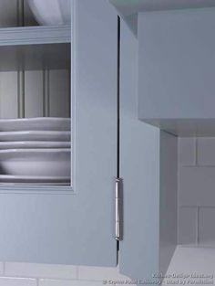 Traditional Blue Kitchen Cabinets #12 (Crown-Point.com, Kitchen-Design-Ideas.org)