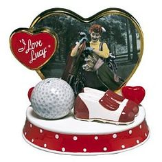 Anniversary I Love Lucy - Golf Ball Shoes Salt And Pepper Shakers Set Salt N Pepper, Salt Pepper Shakers, I Love Lucy, My Love, Salt Of The Earth, Collage Drawing, Lucille Ball, Hollywood Star, Christmas Trees