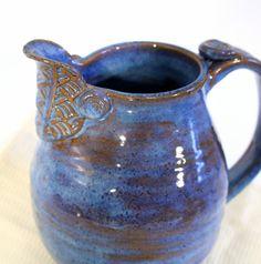 Pottery Pitcher Large Handmade Pitcher by LaurenBauschOriginal