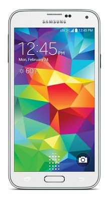 emagge-emagge: Samsung Galaxy S5 White 16GB (Boost Mobile)